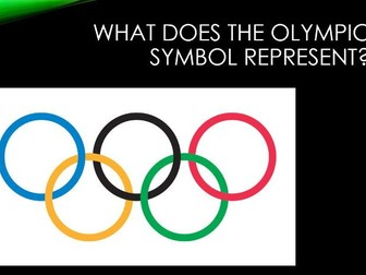 the olympic games key events