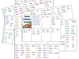 Phonics for SEN: Sound Collector Cards 2 - Advanced Sounds