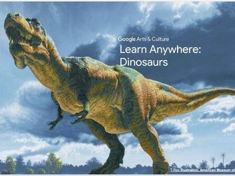 Dinosaurs: Learn Anywhere #googlearts