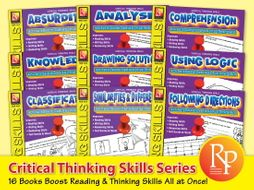 Critical Thinking Series {Bundle}