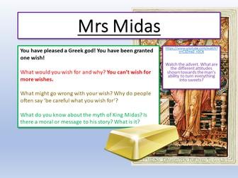 Carol Ann Duffy - Mrs Midas