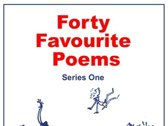 KS3 Forty Favourite Poems Series One Scheme of Work