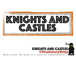 Knights and Castles Topic Vocabulary Packs