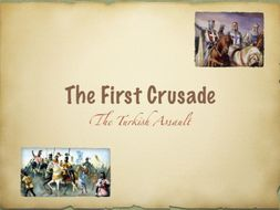 The Turks and The First Crusade