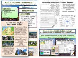 Sustainable Urban Living in Freiburg