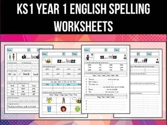 key stage 1 english year 1 phonics and spelling bundle by abteachingmaterials teaching resources. Black Bedroom Furniture Sets. Home Design Ideas