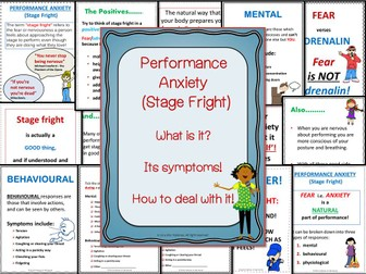 Managing Performance Anxiety
