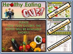 Healthy Eating Quiz - Healthy Lifestyles PSHE 2020
