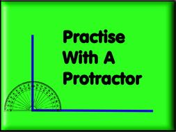 Practise With A Protractor