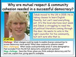 Community Cohesion - Edexcel Citizenship GCSE