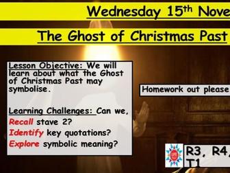 A Christmas Carol - Ghost of Christmas Past