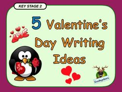 Five Valentine's Day Writing Ideas