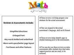 Grade 4, Math Module 5 REVIEW & ASSESSMENT w/Ans keys (printables & Smart Board)
