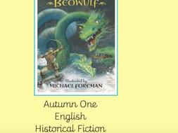Historical Narrative Writing - Beowulf - Ks2 Year 4