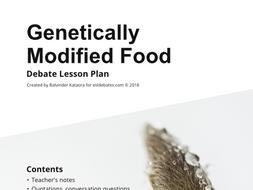 Genetically Modified Food - Complete Debate Pack
