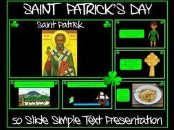 Saint Patrick's Day - Simple Text Presentation