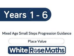 White Rose Maths - Mixed Age Schemes by Year Group - Block 1
