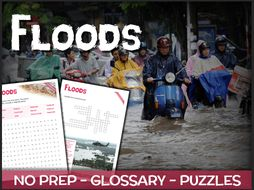 Floods - Puzzles & Glossary