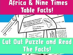 FREE Puzzle Times Table Jigsaw