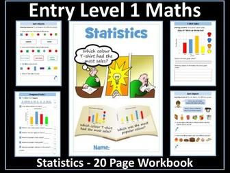 Statistics: AQA Entry Level 1 Maths