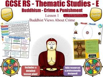 Crime & Criminals - Buddhist & Christian Views (GCSE RS - Buddhism - Crime & Punishment) L1/7