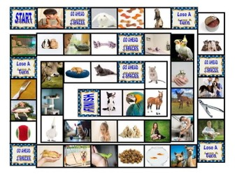 Pets & Pet Care Board Game