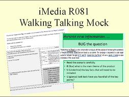 iMedia walking talking mock