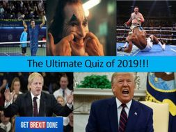 End of Year Quiz 2019