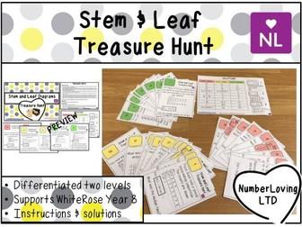 Stem and Leaf (Treasure Hunt)