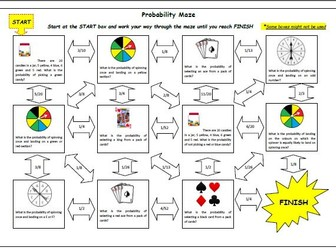 Probability Maze Activity