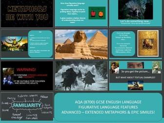 AQA 8700/1 English Language - Figurative Features