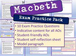 Macbeth Exam Practice Questions