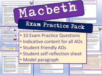Macbeth Exam Practice Questions