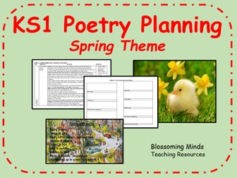 KS1 Spring poetry 5 day unit