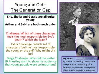 An Inspector Calls Generation Gap