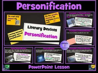 Personification PowerPoint Lesson