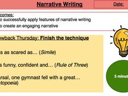 Narrative Writing Lesson