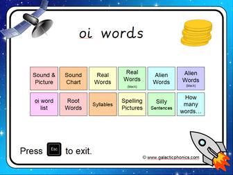 The 'oi' Phonics PowerPoint
