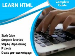HTML Complete Lesson pack with project