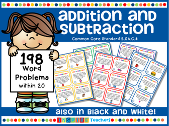 198 Addition and Subtraction Word Problems