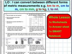 Convert Diffe Forms Of Metric Units M Capacity Length Conversion Ks2 5 6 Whole Lesson By Trabzonunal Teaching Resources Tes