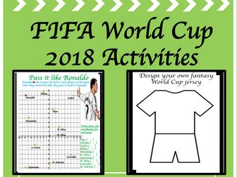 World Cup 2018: Activities