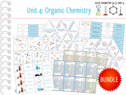 IGCSE Chemistry (9-1) Unit 4: Organic Chemistry - 21x Games and Activities