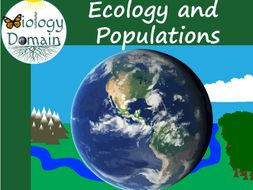 Ecology and Populations Word Wall Vocabulary Cards