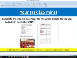 income statement profit and loss account by zeeprod1 teaching
