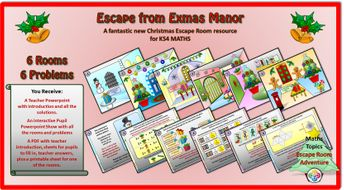 Escape-from-Exmas-Manor-KS-FOUR-Student.ppsx