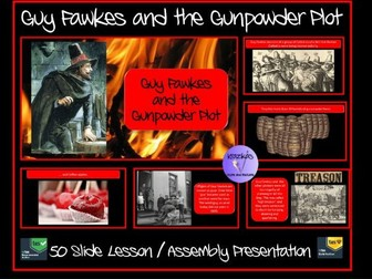 Guy Fawkes and The Gunpowder Plot Presentation