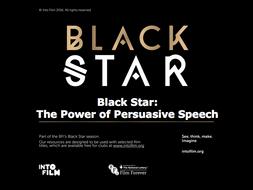 Black Star: The Power of Persuasive Speech