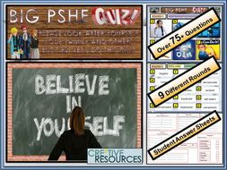 End of Year  PSHE Quiz