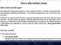Essay Writing Guide for A Level and GCSE